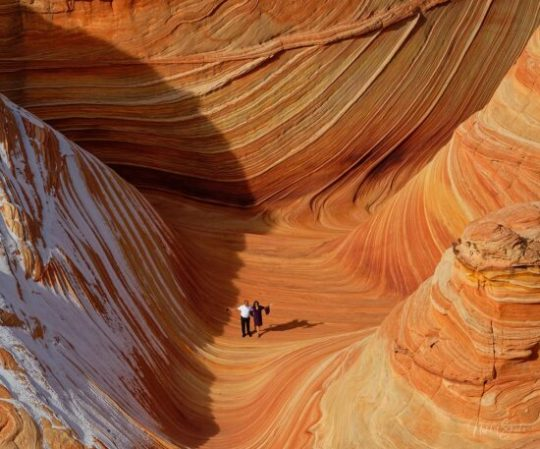 """Photographing """"The Wave"""", Coyote Buttes North, Arizona"""