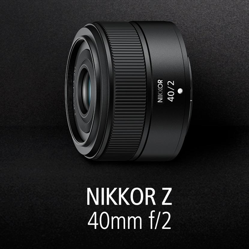Annuncio di sviluppo Nikon per due obiettivi mirrorless pancake Nikkor Z: 28 mm f/2,8 e 40 mm f/2