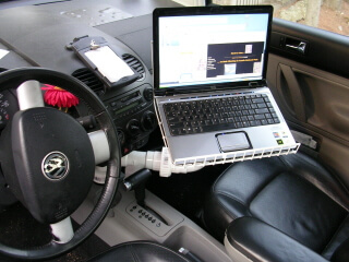 How to make your car to a mobile office