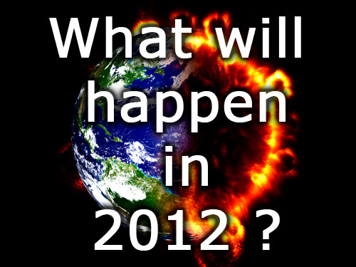 What will happen in 2012 ?