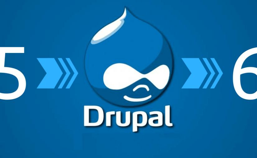 Site Update from Drupal 5.x to 6.x