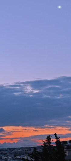 Sunrise with Venus on the sky