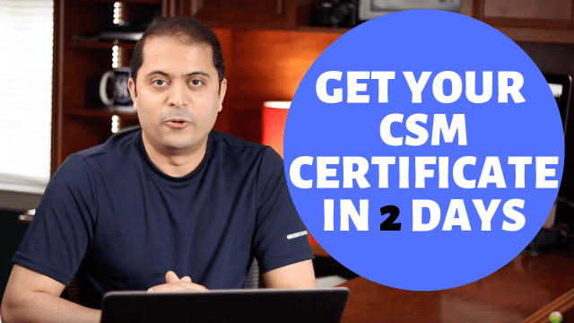 How to get CSM Certification(SCRUM)