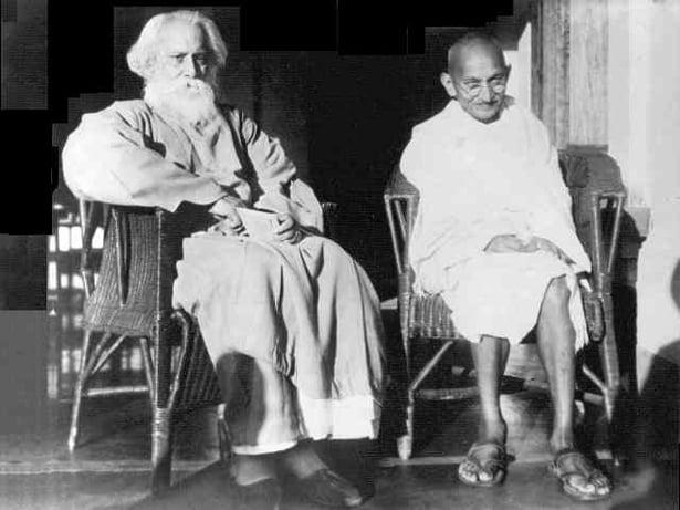 ৰবীন্দ্ৰনাথ আৰু গান্ধী