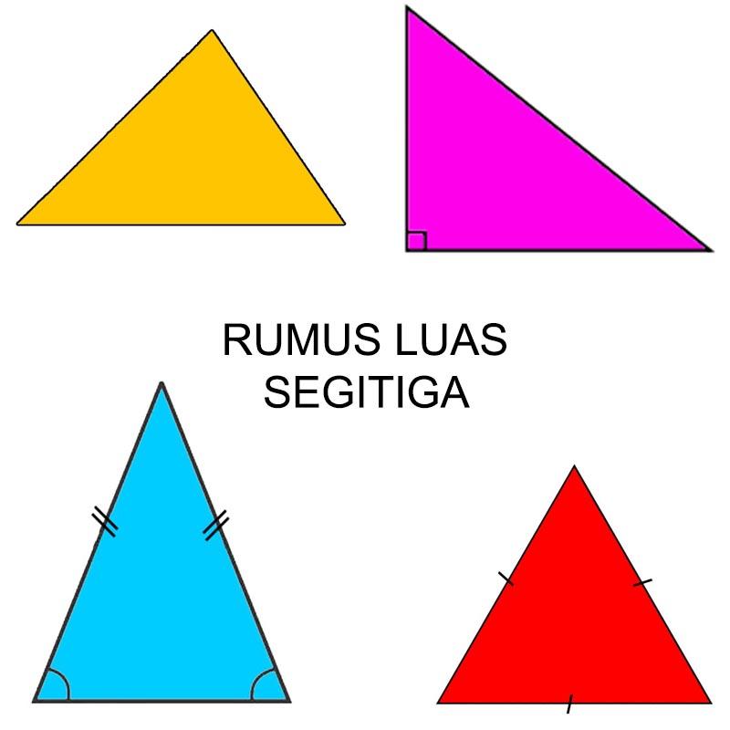 materi rumus luas segitiga