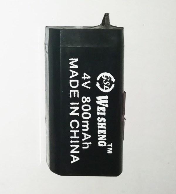 4V 800mA Sealed Pb-acid Battery