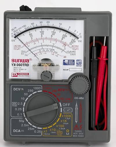 Analog Multimeter SUNWA YX-360TRD