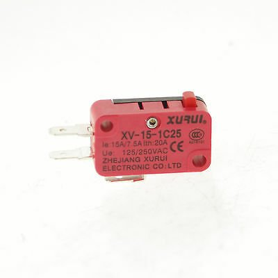 Limit Switch with Short Lever (Large-15A 250VAC)
