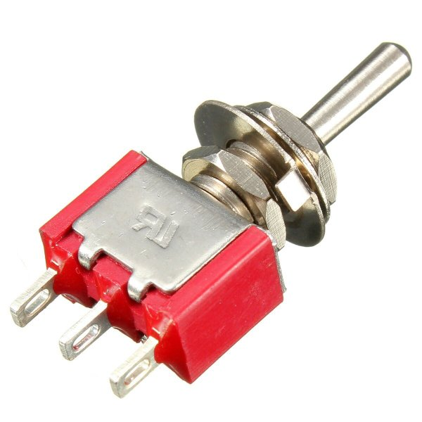 3 Pin Toggle Switch-ON/OFF (Small)