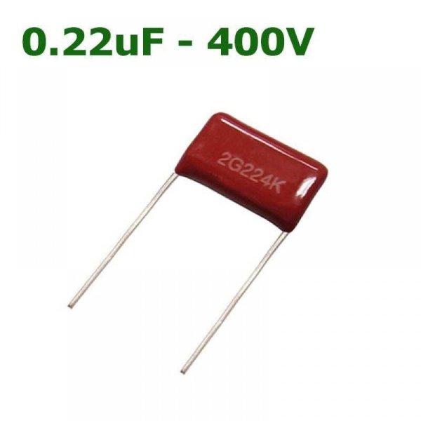 0.22uf 400V- 224 Mylar Capacitor