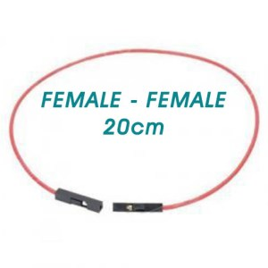 Female to Female 20cm Jumper Wire