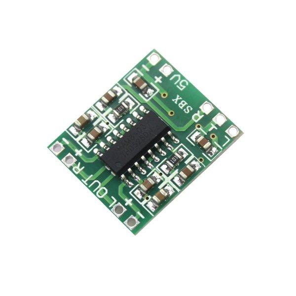 3W + 3W Stereo Amplifier Module-5V (PAM8403 DC 5V Class D Mini Digital Amplifier Board)