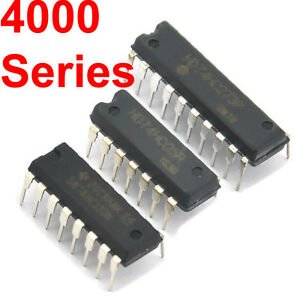 Logic ICs 4000 series