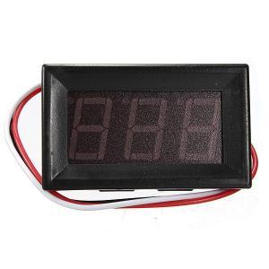 DC Voltmeter (3 wire) 0-30V DC 0.56Inch Digital Display - RED