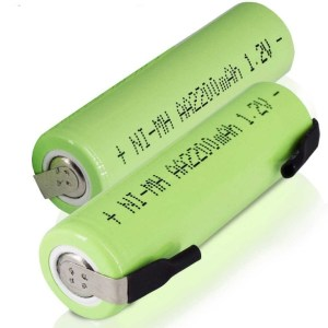 AA 1.2V 1000mAh Rechargeable Soldering Type Battery (with Weld Tabs)