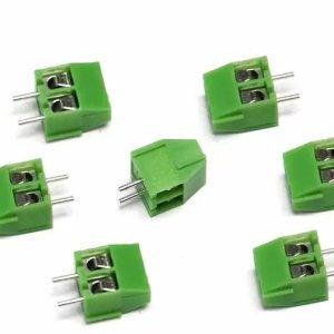 Screw Terminal Block- 3.5mm Pitch 2Pole PCB Mount ( Wire Socket )