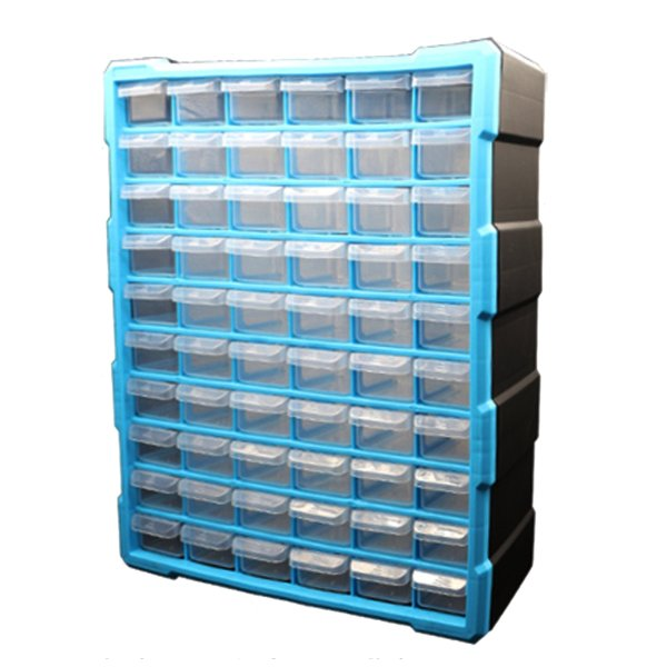 60 Drawers (120 spaces) Components storage cabinet