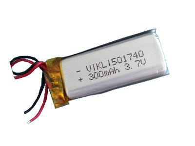 3.7V 300mAh Li-Polymer Battery (Lipo)