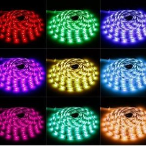 12V DC 3528 SMD LED Waterproof Strip Roll