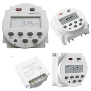 Electronic Programmable Timer 24V DC (16A)