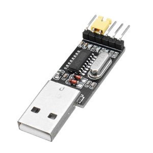 USB to TTL UART Serial adaptor Module (3.3V/5V, CH340G)