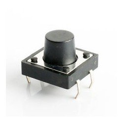 Tactile Switch 4 pin 12mmx12mmx8mm (Micro Button Large)