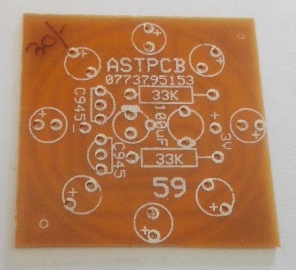 Multi-vibrator (8 LED ) PCB (3VDC)