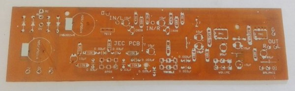 Stereo Pre-Amplifier (2x 741 IC)