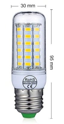 SMD LED 56 Corn type LED Bulb (4W) - Cool White
