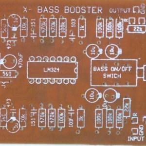 Bass booster Filter LM324 12V DC