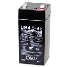 4V 4.5Ah Sealed lead-acid Battery (Pb-acid)