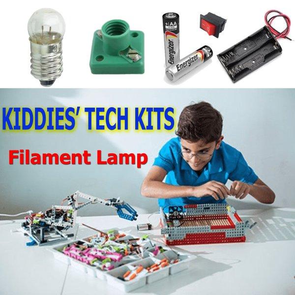 Kiddies TECH KIT 03 - Filament lamp