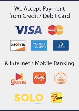 Nilambara Electronics Payment Methods