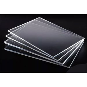 "Acrylic sheet Transparent 3mm (Perspex Clear) 12""x12"""