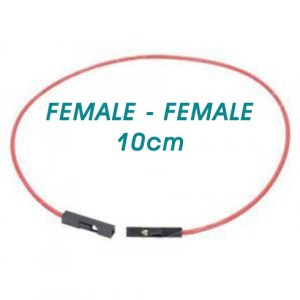 Female to Female 10cm Jumper Wire