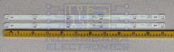 TCL 6V 2W LED Back Light Strips 2 Pcs Set (32D2900)