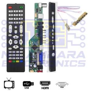 Universal LED TV Main board KIT (TV/USB/VGA/HDMI)