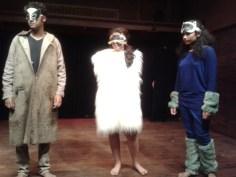Before the Brawl At The Baoli: Katar, Beraal and Miao.