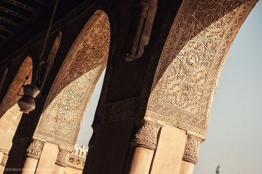 The Mosque of Ibn Tulun, pointed arches source:https://en.wikipedia.org/wiki/Mosque_of_Ibn_Tulun