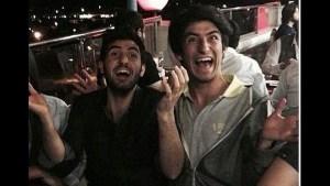 İki genç ve parlak insan; Ozancan Akkuş ile Ali Deniz Uzatmaz.