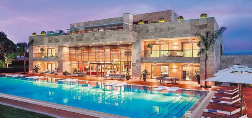 Cumhurbaşkanı'nın villası Arap dizisinde başrolde!