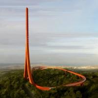 Çanakkale'de böyle bir anten-seyir kulesi yapıldığını biliyor muydunuz?