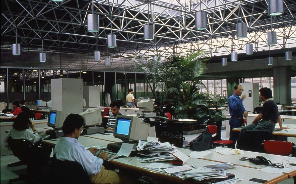 Bir medya nostaljisi... 90'ların sonunda Medya Plaza'da çalışanların hepsi bu fihristte