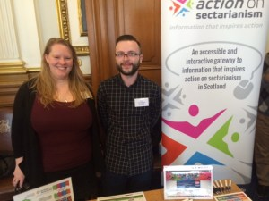 The conference gave a chance to projects like 'Action on Sectarianism' to link in with employers