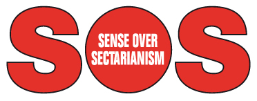 Communities Encouraged to show 'Sense over Sectarianism'