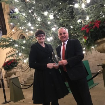 Lord McConnell Honoured as a 'Champion for Change'