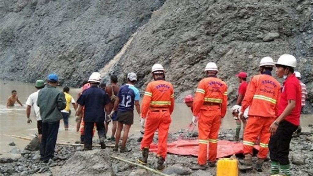 ميانمار | 50 قتيلا اثر انهيار منجم لحجر «اليشم الكريم»