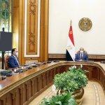 الرئيس يطلع على خطط تأمين العمق الغربي لمصر امتداداً للحدود الدولية