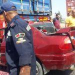 «نزيف الأسفلت».. مصرع 4 أشخاص من أسرة واحدة في حادث على طريق «العامرية»