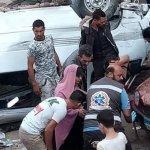 حادث مروع على «الدائري» يودي بحياة سيدة ويصيب 7 آخرين